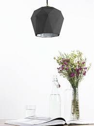 In Pendelleuchte Beton Silber Grau Esstisch Esszimmer Lampe