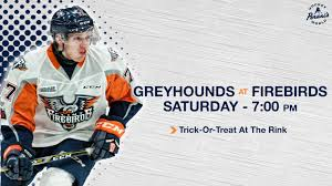 Firebirds Home This Saturday For Trick Or Treat At The Rink