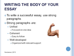 as a reference see chapters essay writing basics ppt writing the body of your essay