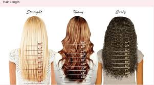 Clip In Hair Extension Length Chart Loose Body Wave Full Lace Wig Indian Remy Hair 14 Inches 1