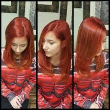 Red Copper Formula Nat Level 6 Redken 1 1 2 Hi Fusion