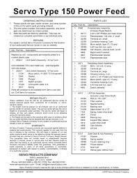 servo power feed 150 wiring diagram pdf servo power feed 150 servo power feed 150 wiring diagram pdf servo type 150 power feed servo pdf catalogue