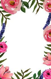 Invitation Templete Floral Invitation Free Printable Invitation Templates Paper 5