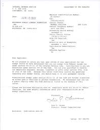 501 C 3 Irs Letter Wolfeboro Public Library Foundation
