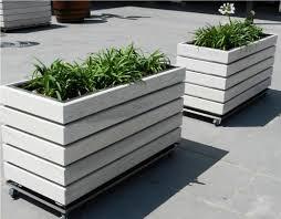 Big Concrete Planters Modern Wooden Planters Inspiration Ii Pinterest Wooden