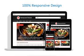 Artist Website Templates Stunning Restaurant Reviews Responsive Website Template 48