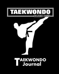 Taekwondo Player Diet Chart Taekwondo Black Belt Journal Martial Arts Journal Note Book 8