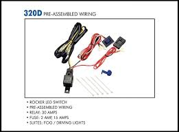 wiring kit eagle eye lights Utv Fog Light Wiring Diagram 320d pre assembled wiring Hella Fog Light Wiring Diagram