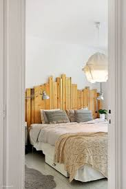 This is a cool, different headboard. Adds character to the room