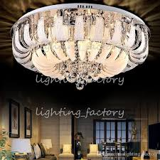 modern round crystal chandeliers minimalist ceiling lamp e14 led glass chandelier hang lights living room bedroom decoration free
