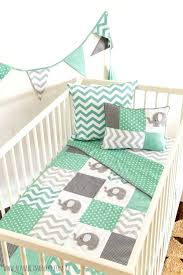 mint green and grey bedding modern interior design with gray mint green nursery bedding set mint