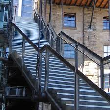 outdoor metal stair railing. Fetching Outdoor Metal Staircase For Your Inspiration : Stunning Home Exterior Design Using Black Stair Railing