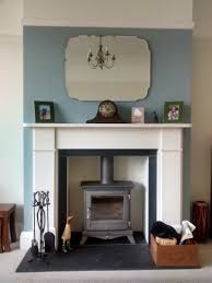 Tiled Fireplace Transformation Heart Woodburners S House - 1930s house interiors