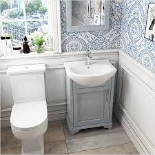 old england small bathroom cloak unit