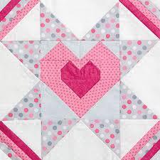 Starry Heart quilt block pattern by Elizabeth Balderrama and Kate ... & Starry Heart quilt block pattern by Elizabeth Balderrama and Kate Colleran  for Quiltmaker's 100 Blocks Volume Adamdwight.com