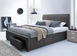 modern queen bed frame. Modern Queen Size Bed Frame With Drawers