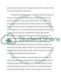 personal reflection on health and wellness essay personal reflection on health and wellness essay example