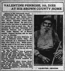 Valentine Penrose Indianapolis Star - Newspapers.com