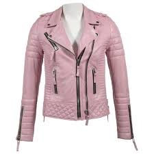 New Designer Coats Celebrity Quilted New Designer Lambskin Motorcycle Leather