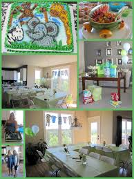 Photo : Jungle Theme Baby Shower Ideas Image