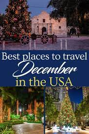 best places to travel in december in