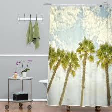 palm tree shower curtain sets curtains bath accessory