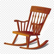 furniture couch household goods chair vector wooden rocking chair