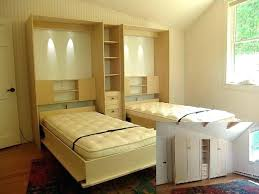 built in murphy bed closet with desk kohlsbullcityfitorg built in murphy bed
