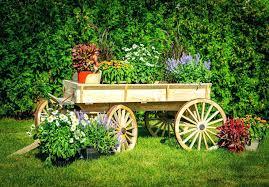 garden wagon wheels 3 cart
