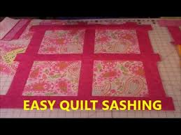 Quilt Sashing Lesson #1 - YouTube &  Adamdwight.com