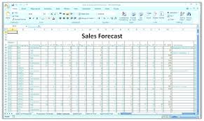 Pro Forma Cash Flow Projections Sales Forecast Template Excel Pro Projection Free Startup