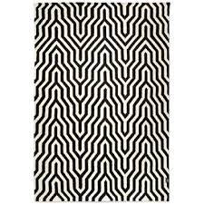 rug urban black classic collection