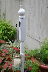 garden post. This Is Another View Of The Garden Post In Action. It Would Also Be Great For Holding Signs And Wreaths. S
