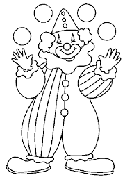 Small Picture Playing Clown Coloring Pages 30669 Bestofcoloringcom