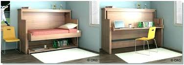 Diy Murphy Bed With Desk Best Ideas About Bed Desk On Bed Photo