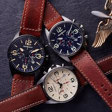 torgoen classic aviation the t16 collection vintage leather strap cream black and