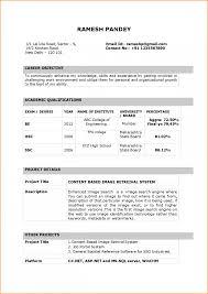 Bca Resume Format Onwe Bioinnovate Co Mca Fresher Pdf Latest For