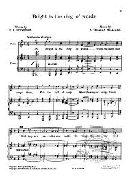 Choose the part of songs of travel and other verses which you want to read from the table of. Songs Of Travel From Ralph Vaughan Williams Buy Now In The Stretta Sheet Music Shop