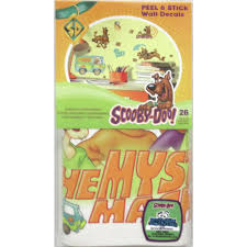 scooby doo 26 big wall stickers room decor mystery machine decals decorations com