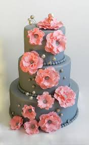 Fancy Cake In Danielles Colors Hmmm Ive Always Wanted To Work