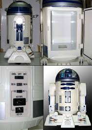 turns out that this awesome r2 d2 compact refrigerator was appaly made back in 2002 as a promotional prize for an of the clones held at
