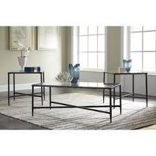 Melanie 3 Piece Coffee Table Set