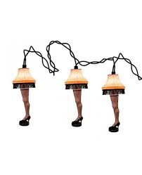 Leg Lamp String Lights A Christmas Story Leg Lamp Christmas Lights