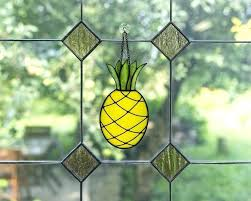 stained glass owl suncatcher patterns pineapple foo gifts