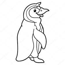 3 Pinguin Kleurplaat Kayra Examples Intended For Schattige Pinguin