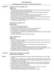 Data Coordinator Resume Samples Velvet Jobs