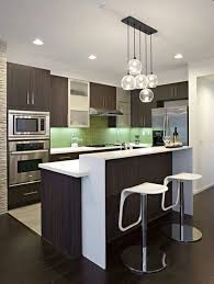 contemporary kitchen design for small spaces. same colors as my new kitchen and i love the light fixture. pebble creek lane 02 - contemporary images by elan designs international design for small spaces t