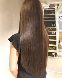 ロングストレートはトレンドをプラスしてモテヘアに Hair