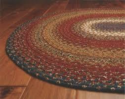 cotton area rugs 8x10 luxury cotton braided area floor rug oval burdy blue rustic