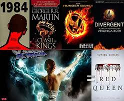 10 1984 15 hunger games 10 x men 10 games of thrones 15 divergent that d leave us with only 40 of original red queen